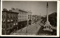 Monument Square and Soldiers & Saliors Monument