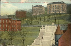Rensselaer Polytechnic Institute Building and Approach