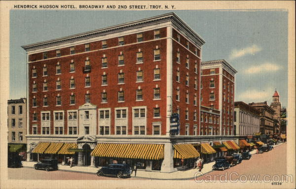 Hendrick Hudson Hotel - Broadway and 2nd Street