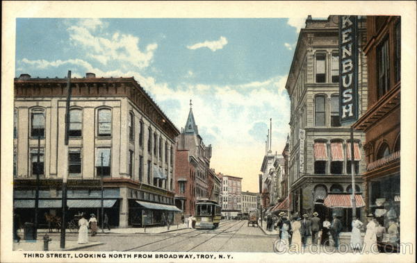 Third Street, Looking North from Broadway