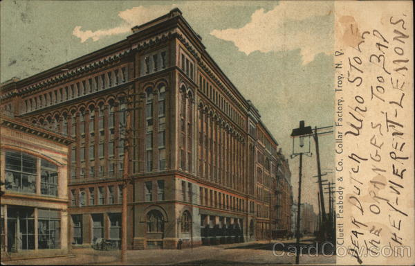 Cluett Peabody & Co. Collar Factory