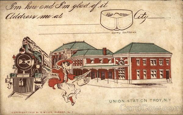 Union Station, Troy, N.Y.