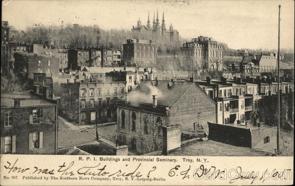 R. P. I. Buildings and Provincial Seminary