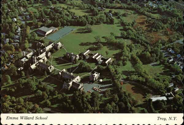 Aerial View of Emma Willard School