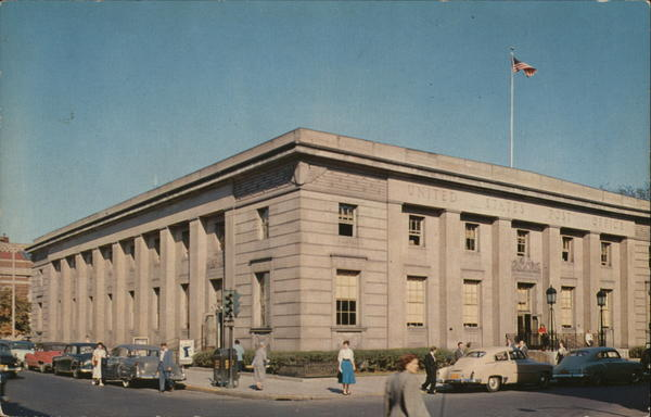 U.S. Post Office, Broadway and Fourth Street