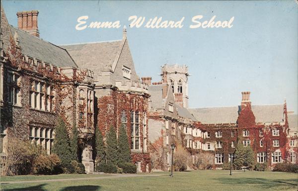 Emma Willard School, Library, Slocum and Sage Halls