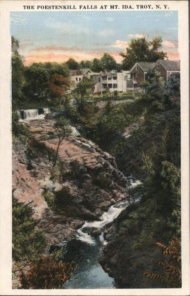 The Poestenkill Falls at Mt. Ida