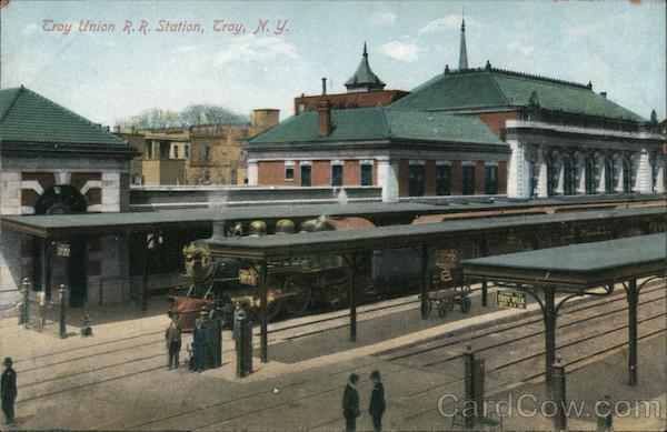 Troy Union R.R. Station
