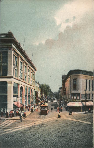 Third Street from Fulton Street Looking South