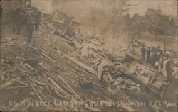 B&M Train Wreck, Lansingburgh Station October 4, 1906