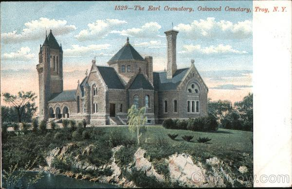 The Earl Crematory, Oakwood Cemetary