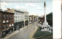 Monument Square, Soldier's and Sailor's Monument