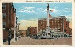 Cannon Square and Hendrick Hudson Hotel