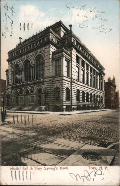 Music Hall & Troy Savings' Bank