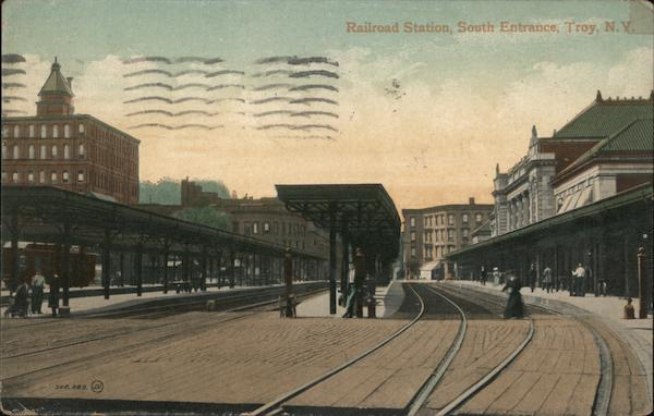 Railroad Station, South Entrance