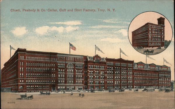 Cluett, Peabody & Co., Collar, Cuff and Shirt Factory