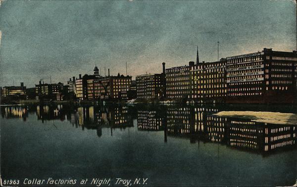 Collar Factories at Night