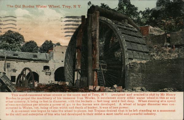 The Old Burden Water Wheel