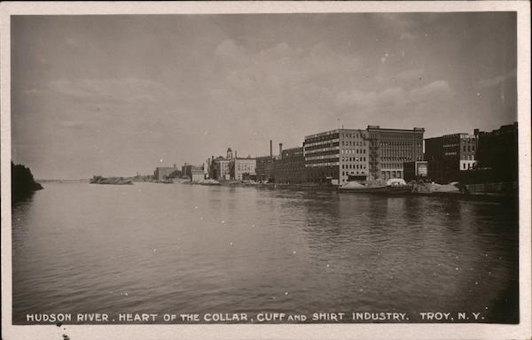 Hudson River, Heart of the Collar, Cuff and Shirt Industry