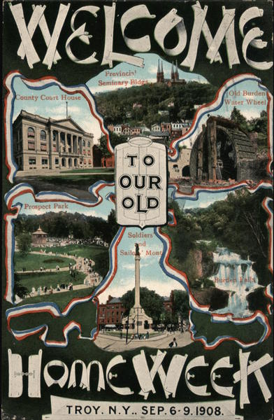 Welcome to our old Home Week Sep 6-9 1908