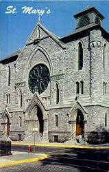 St. Mary'S Roman Catholic Church, Washington And Third Sts.