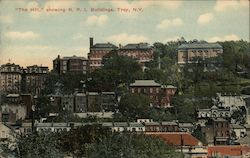 The Hill, showing Rensselaer Polytechnic Institute Buildings