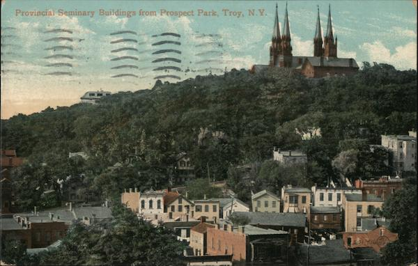 Provincial Seminary Buildings from Prospect Park