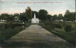 Looking Eastward, Main Walk, Prospect Park