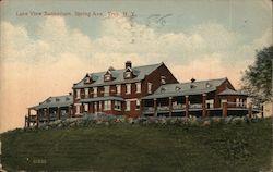 Lake View Sanitarium, Spring Ave.