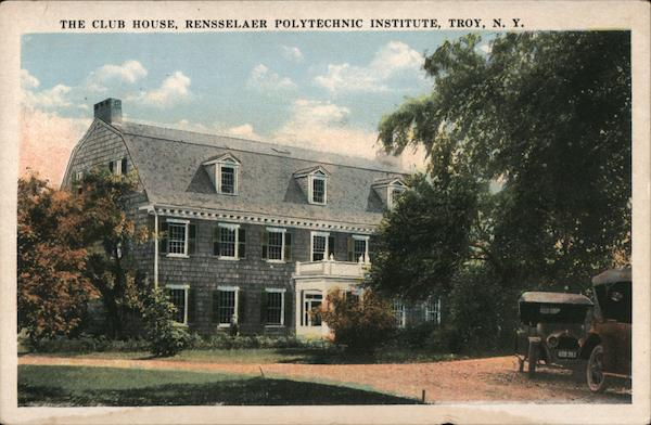 The Club House, Rensselaer Polytechnic Institute