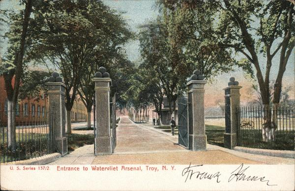 Entrance to Watervliet Arsenal
