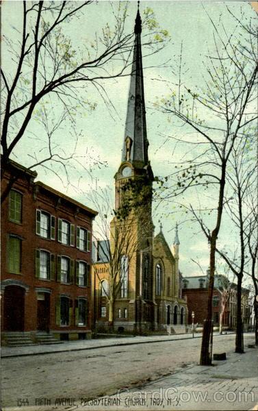 Fifth Avenue,Presbyterian Church